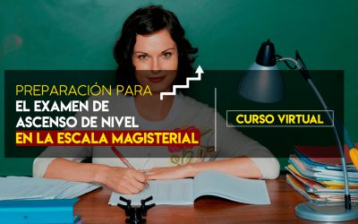 CURSO DE ASCENSO DE ESCALA MAGISTERIAL