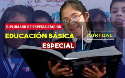 CURSO DE ESPECIALIZACIÓN EN EDUCACIÓN BÁSICA ESPECIAL
