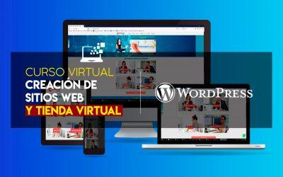 CURSO: CREACIÓN DE SITIOS WEB Y TIENDA VIRTUAL CON WORDPRESS