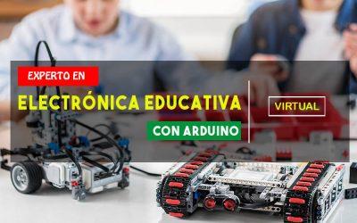 CURSO DE ELECTRÓNICA EDUCATIVA CON ARDUINO