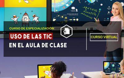 CURSO EXPERTO EN EL USO DE LAS TIC EN LA EDUCACIÓN